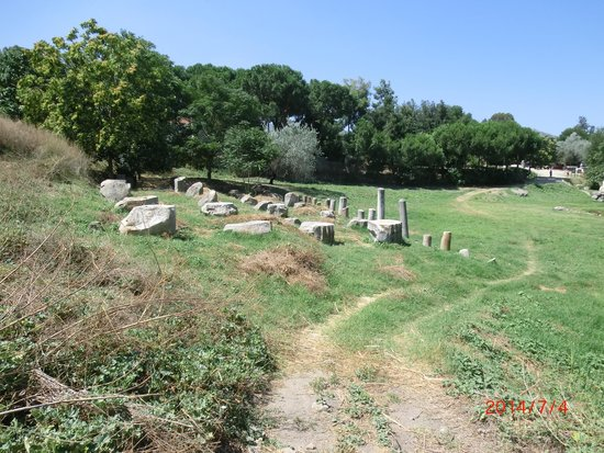 The Temple of Artemis : From the far side
