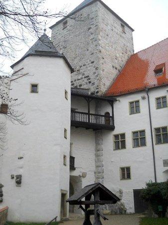 Prunn Castle: Замок. Вид изнутри