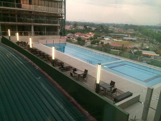 Imperial Hotel Kuching: View from my room