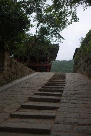 Templo de Beomeosa: Дорога к храму
