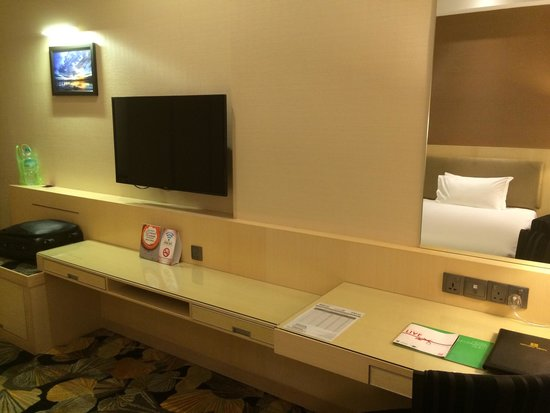 "Imperial Hotel Kuching: 42"" LG LED TV with Cable TV channels"