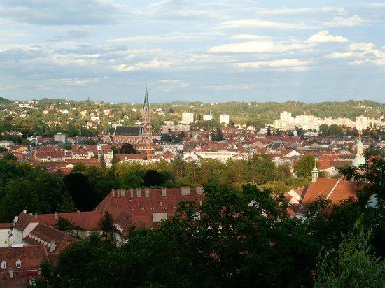 Grazer Schloßberg: Aussicht