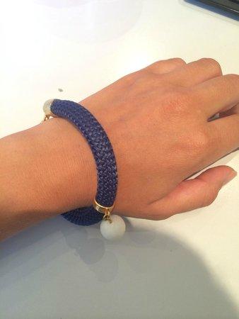 Blue Handmade Jewels : мой браслет в морской стилистике