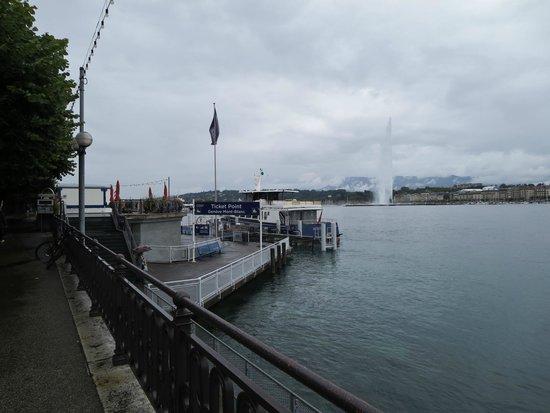 Lake Geneva: Docks downtown Geneva