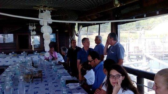 Trabocco Punta Cavalluccio : convivio