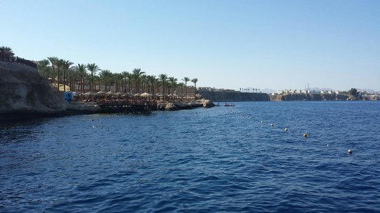 The Grand Hotel Sharm El Sheikh: Excellent snorkeling area