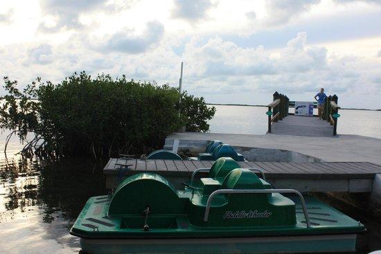 Coconut Bay Resort: zicht op pier