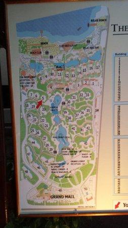 The Grand Hotel Sharm El Sheikh: Map