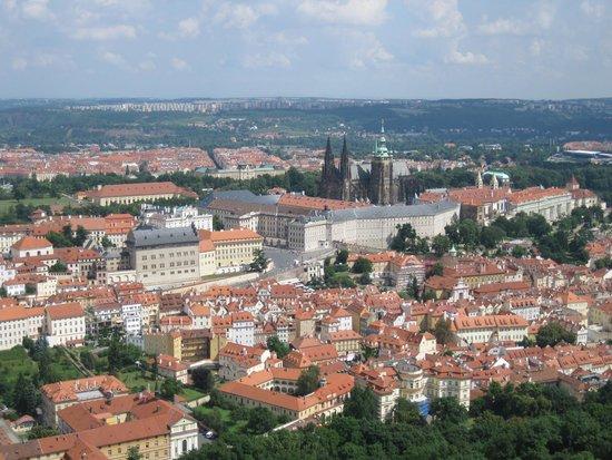 Hotel Atlantic: Вид с Петршинской башни, Прага
