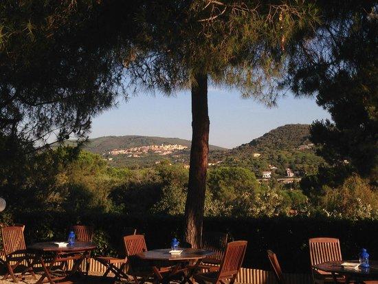 Hotel Villa Giulia, veduta di Capoliveri