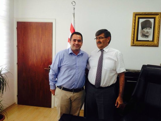 Hotel Sempati : Our Manager and Transport Minister