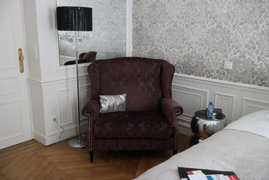 Courcelles-Parc: Chair for lounging