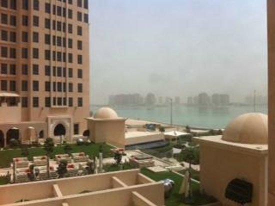 The St. Regis Doha: vista desde la habitacion