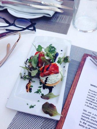 Restaurant El Castillo: Free appetiser.... Yummy!