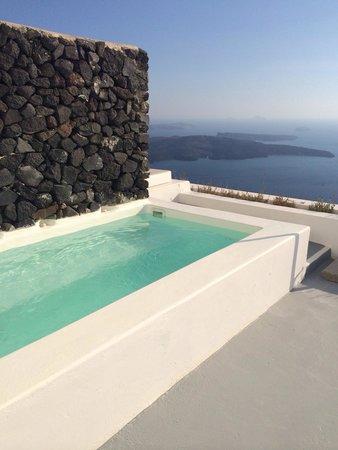 Grace Santorini Hotel: Plunge pool