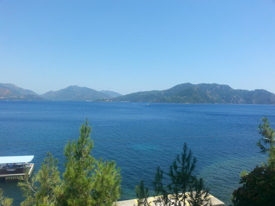 Grand Yazici Mares: view from hotel