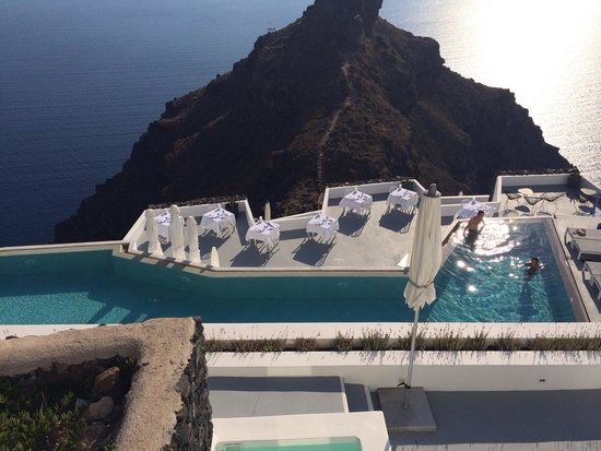 Grace Santorini Hotel: Hotel from reception