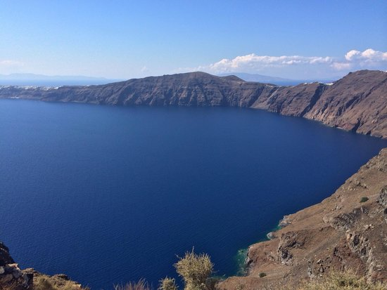 Grace Santorini Hotel: View from castle hike