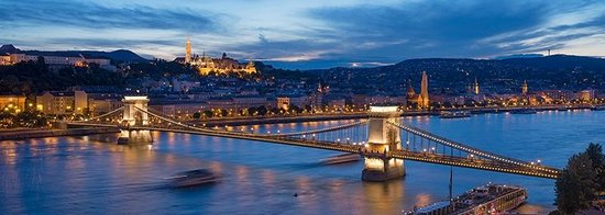 InterContinental Budapest : Splendid view from the hotel