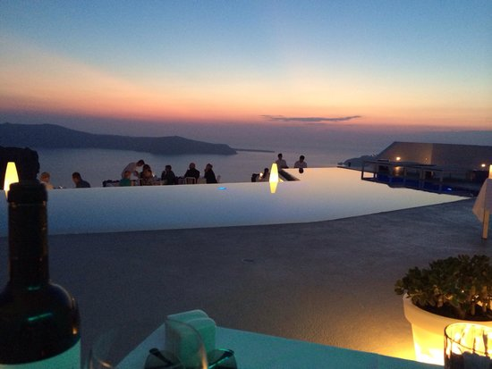 Grace Santorini Hotel: Sunset