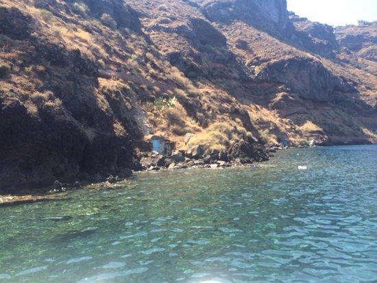 Designhotel Grace Santorini : Boat ride picture of grace hotel santorini auberge resorts