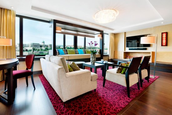 InterContinental Budapest: Presidential suite, living room
