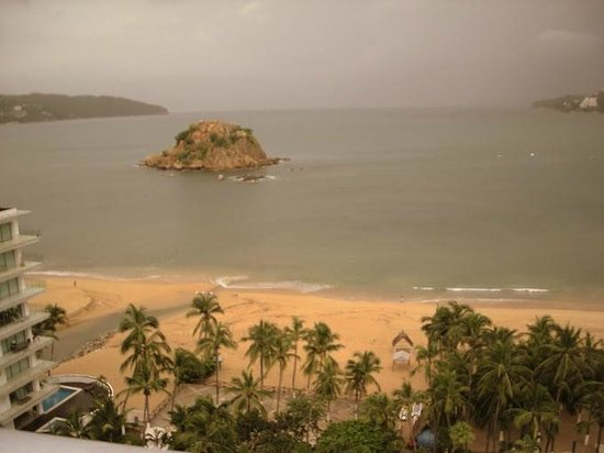 Gran Plaza Hotel Acapulco: Widok z balkonu