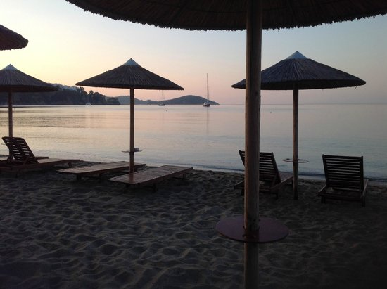 Angeliki Beach Hotel: View from Swell Beach Bar