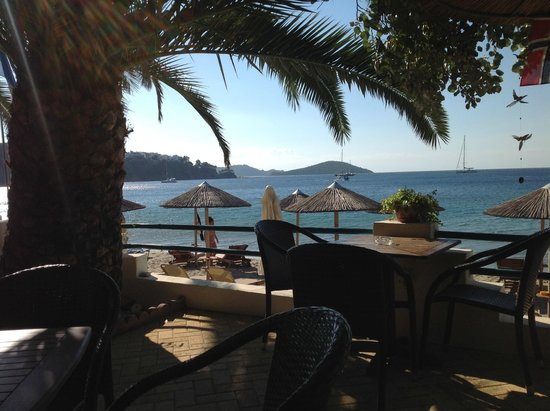 Angeliki Beach Hotel: Swell Beach Bar