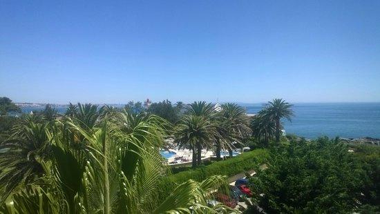 Grande Real Villa Italia Hotel & Spa: Вид с моей терассы