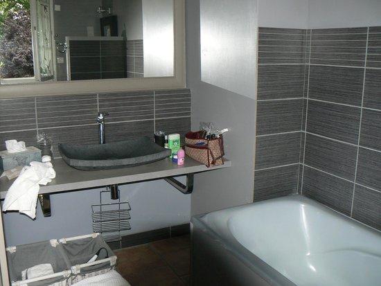 Moulin d'Hauterive : Salle de bain