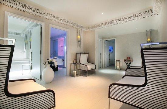 Five Seas Hotel Cannes : Spa Relxaing Room