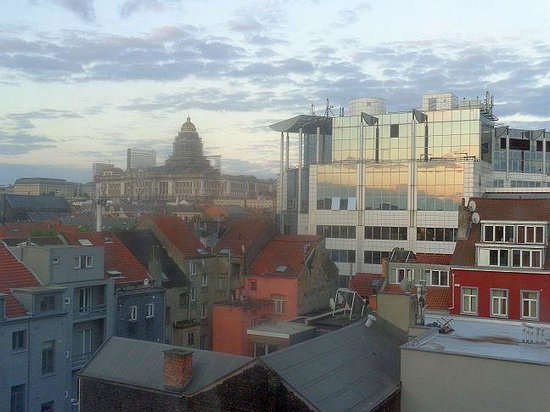 Novotel Brussels Midi Station: Ma vue au 7è étage