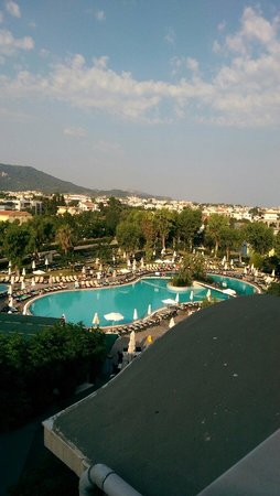 Atlantica Princess Hotel: Perfect view to wake up to