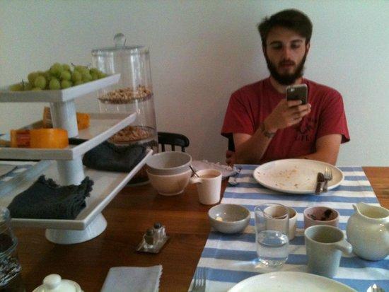 Sleep in Amsterdam B&B: Breakfast was delicious