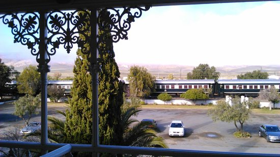 Lord Milner Hotel: View from the room