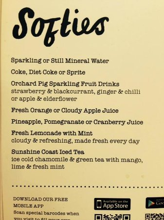 Giraffe: try sunshine coast iced tea...