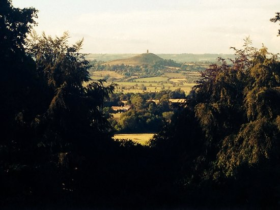 Glastonbury Tor: Tor view from a hike