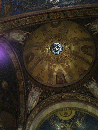 Garden of Gethsemane : Купол церкви Всех Наций