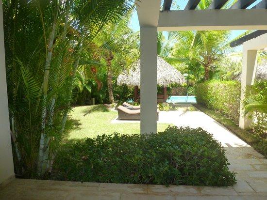The Reserve at Paradisus Punta Cana: Vue de notre chambre