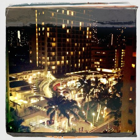 The Imperial Hawaii Resort at Waikiki: View from the room