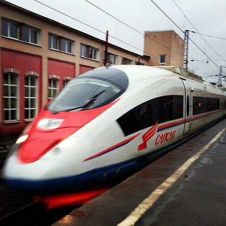 Sapsan Bullet Train: Сапсан в Твери