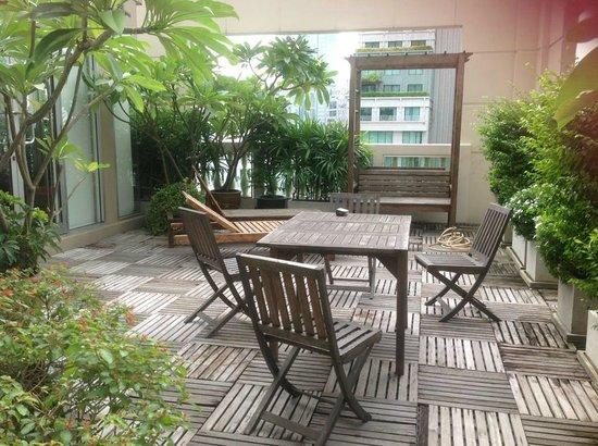 Mayfair, Bangkok - Marriott Executive Apartments : balcony