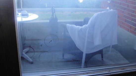 Griffen Spa Hotel: Termorude punkteret så man ikke kan se ud