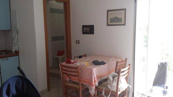 Residence Matteini : soggiorno