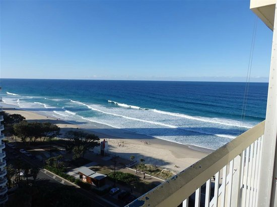 Chateau Beachside: Room with a View - 13th floor