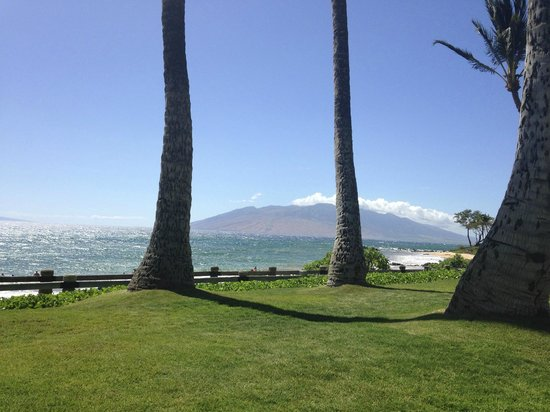 Andaz Maui At Wailea: Grounds in front of villas, overlooking beach.
