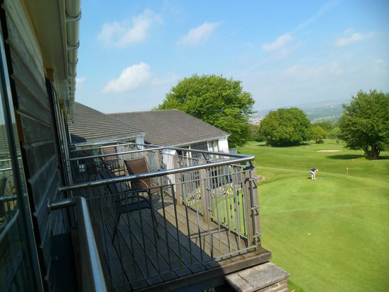 Bryn Meadows Golf, Hotel & Spa: View from room
