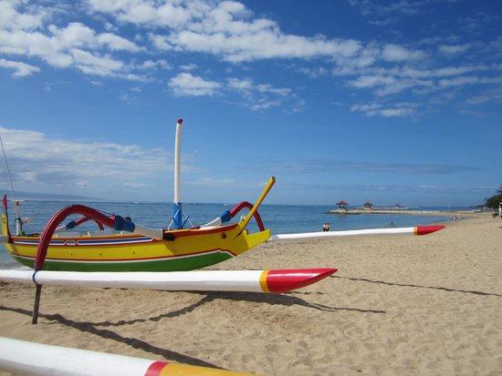 Griya Santrian : plage de l'hotel