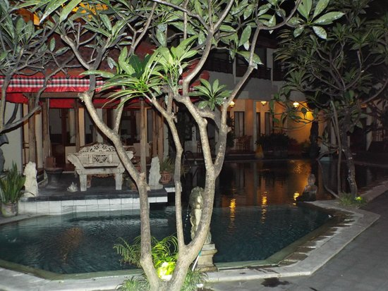 Hotel The Flora Kuta Bali: View from my room (room 10).